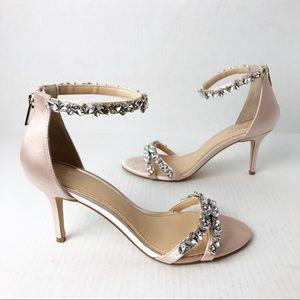 Jewel Badgley Mischka 'Caroline' Crystal Heels